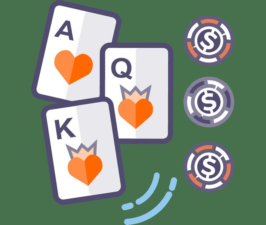 50 Poker ba lá Casino Trực Tuyếns hay nhất năm 2021